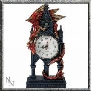 Dragon Clock Time Guardian Nemesis Now Gothic Decor